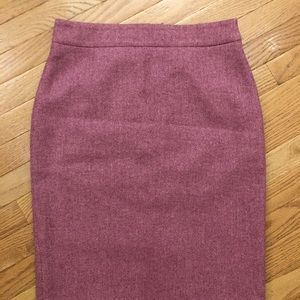 J. Crew Knee High Pencil Skirt